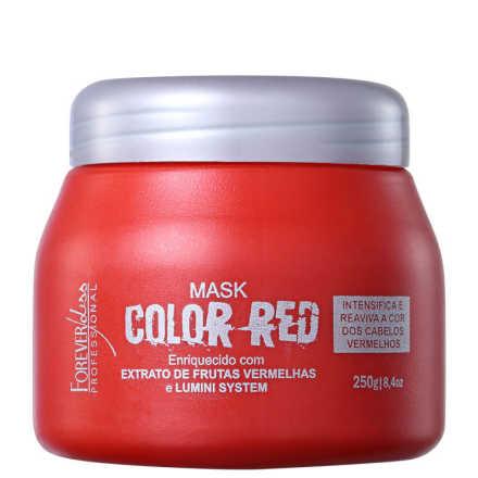 Forever Liss Professional Color Red Mask - Máscara de Tratamento 250g