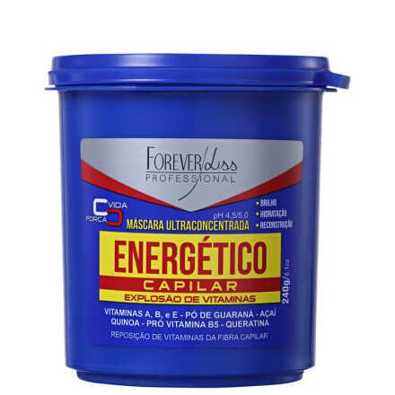 Forever Liss Professional Energético Capilar - Máscara de Tratamento 240g