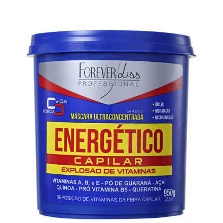 Forever Liss Professional Energético Capilar - Máscara de Tratamento 950g