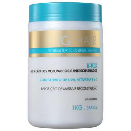G.Hair B-Tox Reposição de Massa e Reconstrução - Máscara 1000g