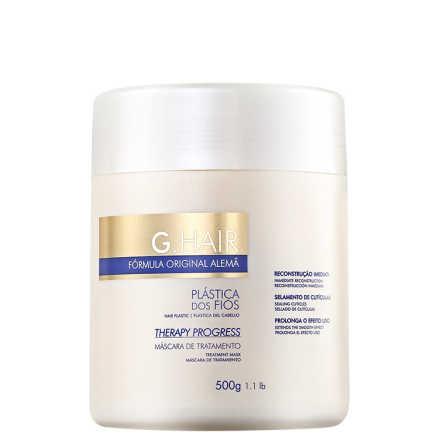 G. Hair Therapy Progress Reconstrução Imediata - Máscara de Tratamento 500g
