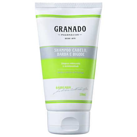 Granado Barbearia Shampoo Cabelo, Barba e Bigode - Shampoo 150ml