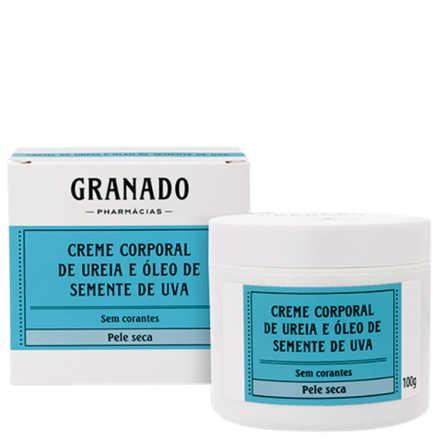 Granado Granaderma Hidra-Intenso Creme Corporal de Uréia e Óleo de Semente de Uva - Hidratante 100g
