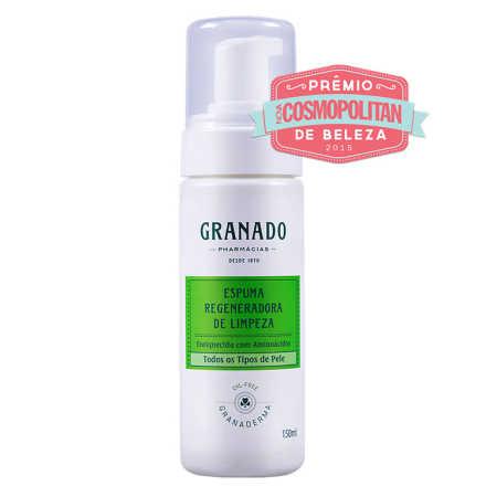 Granado Granaderma Oil-Free Espuma Regeneradora de Limpeza - Mousse Facial 150ml