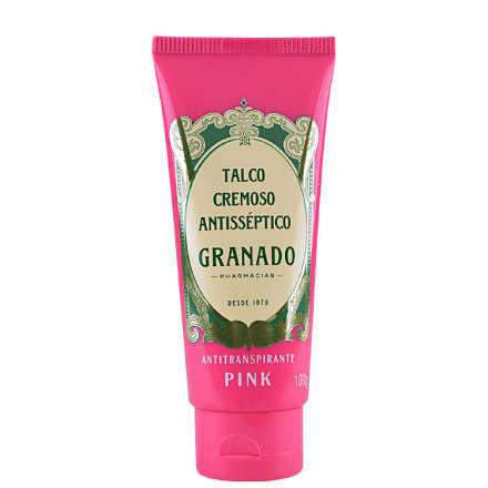 Granado Pink Talco Cremoso Antisséptico - Creme Anti-Transpirante 100g