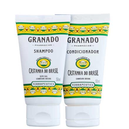 Granado Terrapeutics Castanha do Brasil Cabelo Hidratado Kit (2 Produtos)