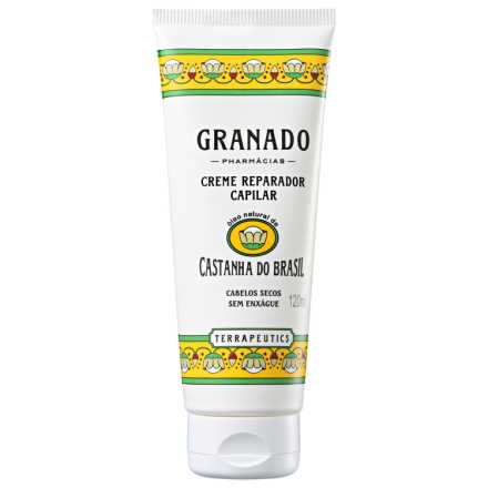 Granado Terrapeutics Creme Reparador Capilar Castanha do Brasil - Leave-in 120ml