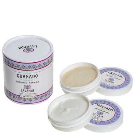 Granado Terrapeutics Esfoliante + Manteiga Lavanda Kit (2 Produtos)