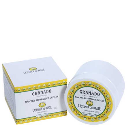 Granado Terrapeutics Máscara Reparadora Capilar Castanha do Brasil - Máscara 300g