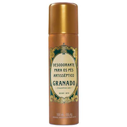 Granado Tradicional Para Os Pés Antisséptico - Desodorante Aerossol 100ml