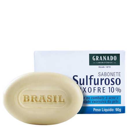 Granado Tratamento Sulfuroso Enxofre 10% - Sabonete em Barra 90g