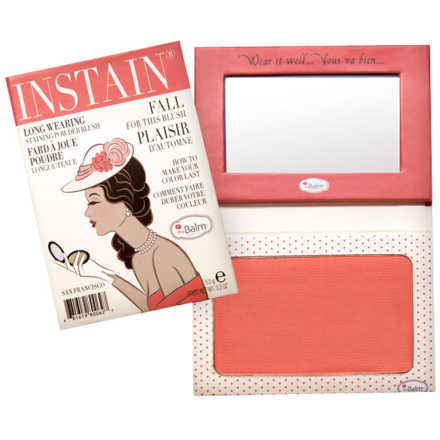 the Balm Instain Swiss Dot Peach - Blush 5,5g