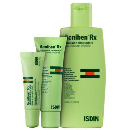ISDIN Acniben Rx Fim da Acne Kit (3 Produtos)
