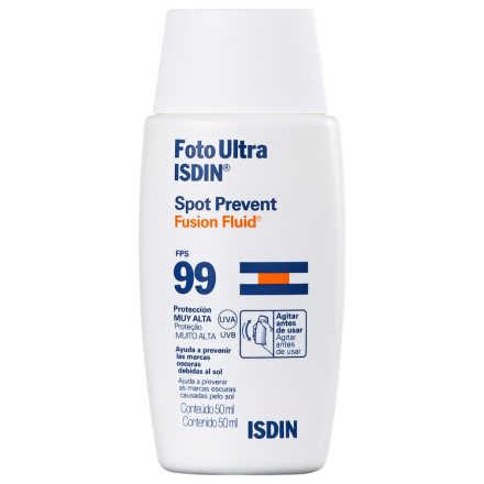 ISDIN Foto Ultra Spot Prevent Fusion Fluid FPS 99 - Protetor Solar Facial 50ml