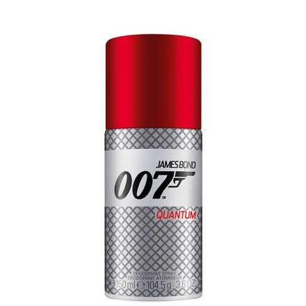 James Bond 007 Quantum Deo Spray Masculino - Desodorante 150ml
