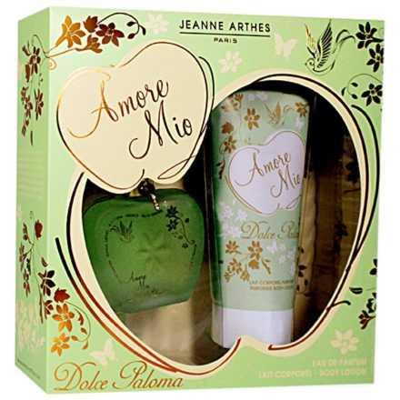 Conjunto Amore Mio Dolce Paloma Jeanne Arthes Feminino - Eau de Parfum 100ml + Loção Corporal 200ml