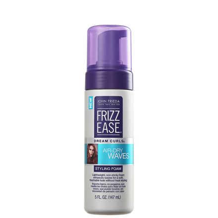 John Frieda Frizz Ease Dream Curls Air-Dry Waves Styling FOAM - Leave-in 147ml