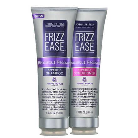 John Frieda Frizz Ease Miraculous Recovery Repairing Duo Kit (2 Produtos)