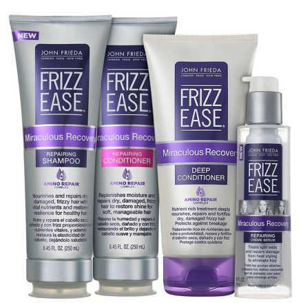 John Frieda Frizz Ease Miraculous Recovery Repairing Full Kit (4 Produtos)