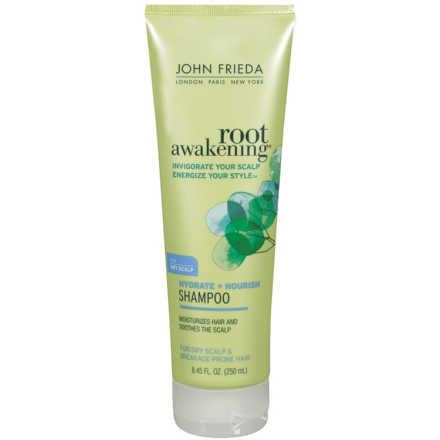 John Frieda Root Awakening Hydrate + Nourish Shampoo for Dry Hair - Shampoo 250ml