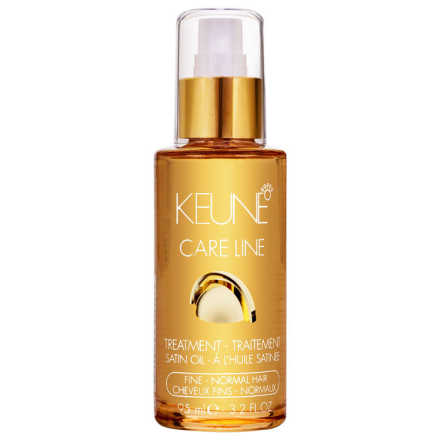 Keune Care Line Satin Oil Treatment Fine Normal Hair - Óleo Finalizador 95ml