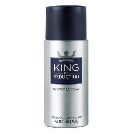Antonio Banderas King of Seduction - Desodorante Masculino 150ml