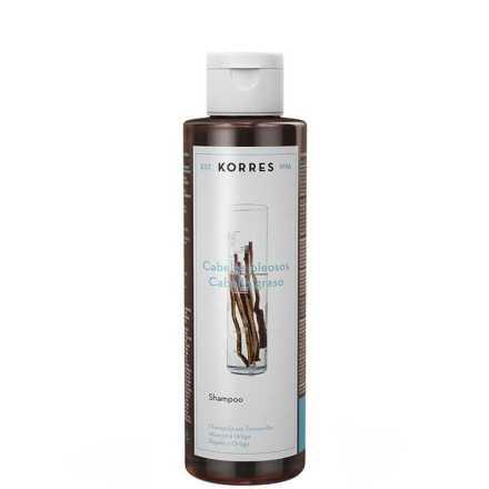 Korres Alcaçuz e Urtiga - Shampoo 250ml