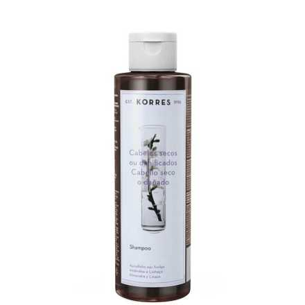 Korres Amêndoa e Linhaça - Shampoo 250ml