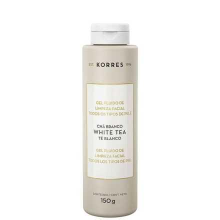 Korres Chá Branco - Gel Fluído de Limpeza Facial 150g