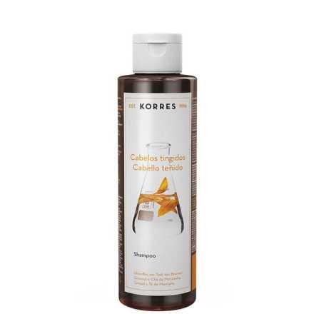 Korres Girassol e Chá da Montanha - Shampoo 250ml