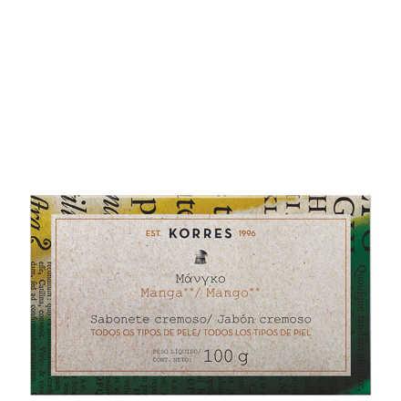 Korres Manga - Sabonete Cremoso Em Barra 100g