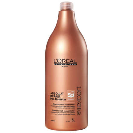 L'Oréal Professionnel Absolut Repair Pós-Química Multi-reconstrutor - Shampoo 1500ml