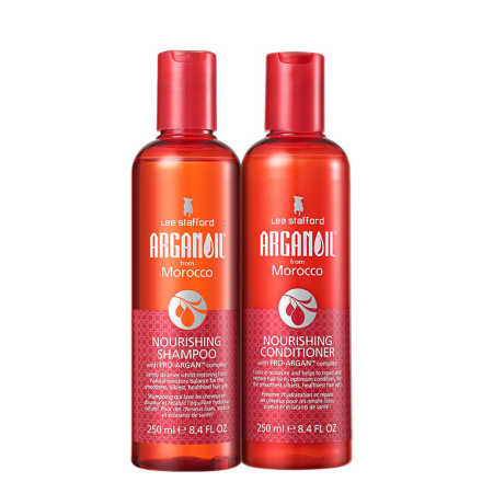 Lee Stafford Arganoil From Morocco Nourishing Duo Kit (2 Produtos)