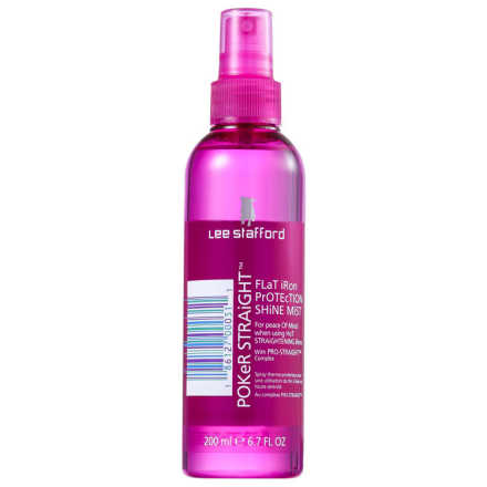 Lee Stafford Poker Straight Flat Iron Protection Shine Mist - Protetor Térmico 200ml