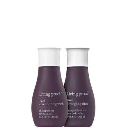 Living Proof Curl Duo Travel Kit (2 Produtos)