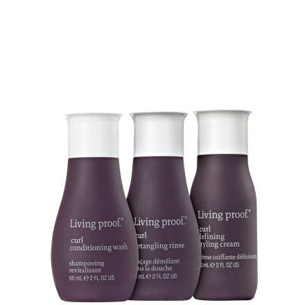 Living Proof Curl Styling Travel Kit (3 Produtos)