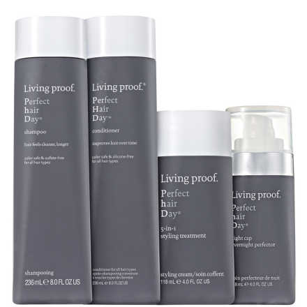 Living Proof Perfect Hair Day (PHD) Treatment Kit (4 Produtos)