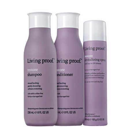Living Proof Restore Revitalizing Kit (3 Produtos)