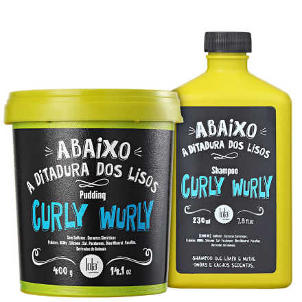 Lola Cosmetics Curly Wurly Duplo Kit (2 Produtos)