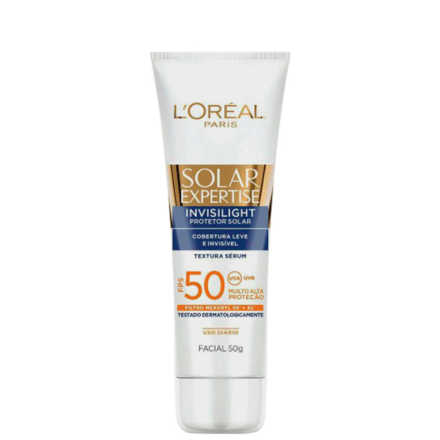 L'Oréal Paris Solar Expertise Invisilight FPS 50 - Protetor Solar Facial 50g