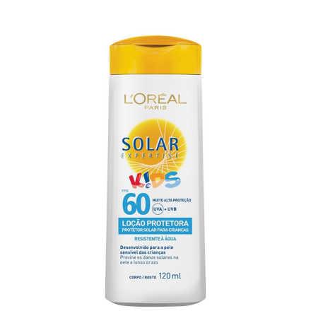L'Oréal Paris Solar Expertise Kids Loção Protetora FPS 60 - Protetor Solar 120ml