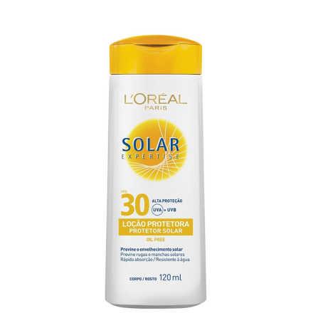 L´Oréal Paris Solar Expertise Loção FPS 30 - Protetor Solar 120ml