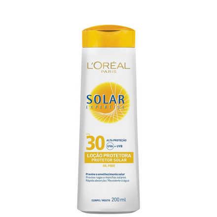 L´Oréal Paris Solar Expertise Loção FPS 30 - Protetor Solar 200ml