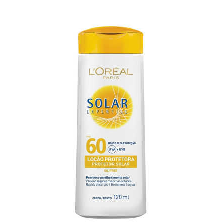 L´Oréal Paris Solar Expertise Loção FPS 60 - Protetor Solar 120ml