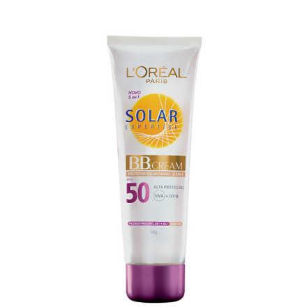 L´Oréal Paris Solar Expertise Protetor Solar Diário 5 em 1 com Cor FPS 50 - BB Cream 50g