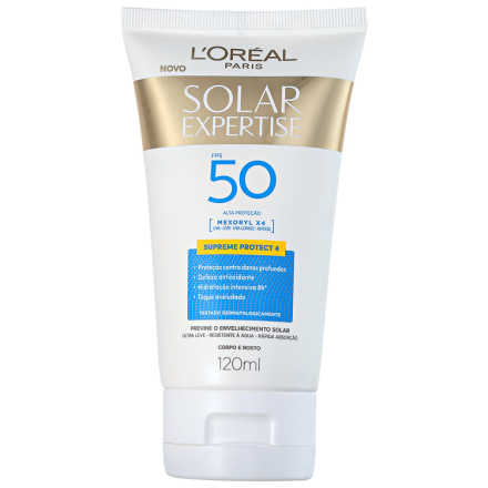 L'Oreál Paris Solar Expertise Supreme Protect 4 FPS 50 - Protetor Solar 120ml
