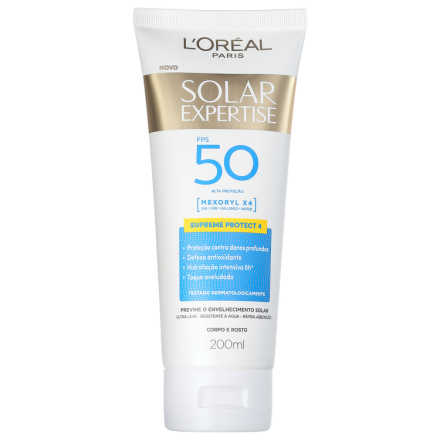 L'Oreál Paris Solar Expertise Supreme Protect 4 FPS 50 - Protetor Solar 200ml