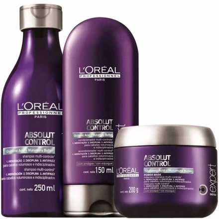 L'Oréal Professionnel Absolut Control Power Kit (3 Produtos)