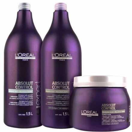L'Oréal Professionnel Absolut Control Power Salon Kit (3 Produtos)