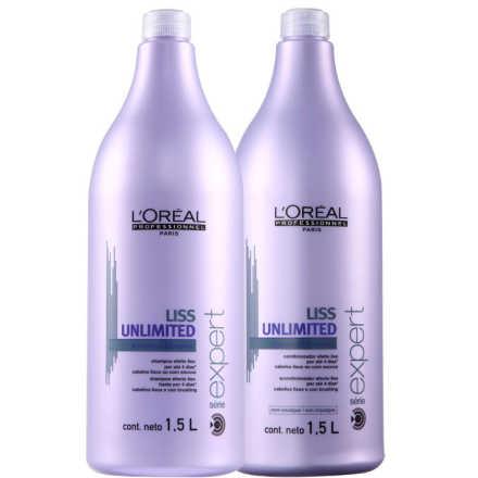 L'Oréal Professionnel Liss Unlimited Salon Kit (2 Produtos)